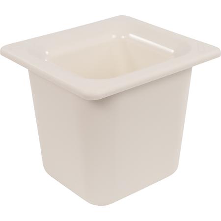"CM110402 - Coldmaster® 6"" Deep Sixth-size Food Pan 1.6 qt - White"