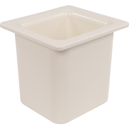 "CM110502 - Coldmaster® 6"" Deep High Capacity Sixth-size Food Pan 1.7 qt - White"