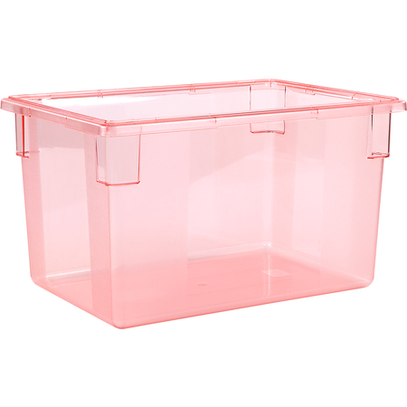 "10624C05 - StorPlus™ Color-Coded Food Box Storage Container 21.5 Gallon, 26"" x 18"" x 15"" - Red"