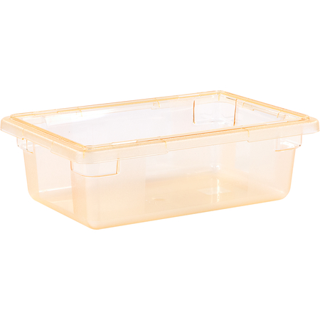 """10611C22 - StorPlus™ Color-Coded Food Box Storage Container 3.5 Gallon, 18"""" x 12"""" x 6"""" - Yellow"""