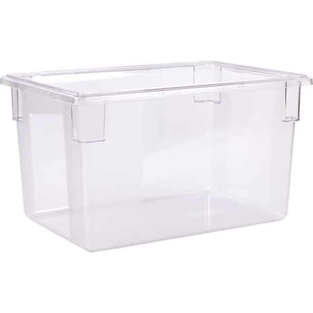 """1062407 - StorPlus™ Polycarbonate Food Box Storage Container 21.5 Gallon, 26"""" x 18"""" x 15"""" - Clear"""