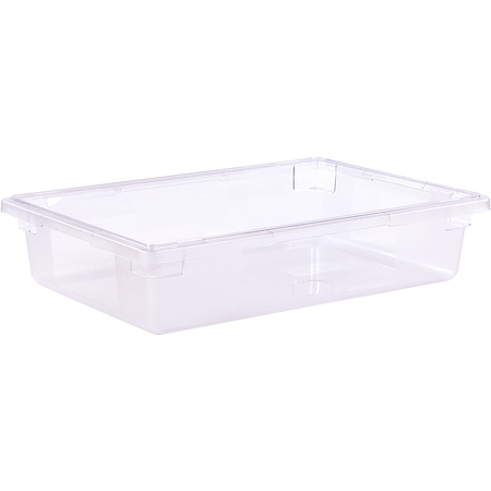 """1062107 - StorPlus™ Polycarbonate Food Box Storage Container 8.5 Gallon, 26"""" x 18"""" x 6"""" - Clear"""