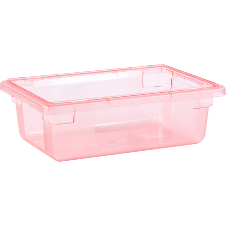"10611C05 - StorPlus™ Color-Coded Food Box Storage Container 3.5 Gallon, 18"" x 12"" x 6"" - Red"