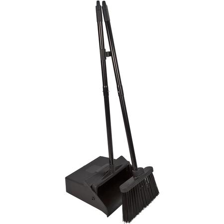 """36141503 - Duo-Pan™ Lobby Pan & Duo-Sweep Broom Combo 36"""" - Black"""