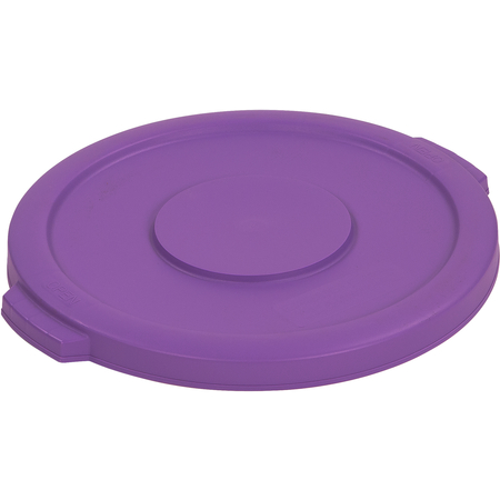 34101189 - Bronco™ Round Waste Bin Food Container Lid 10 Gallon - Purple