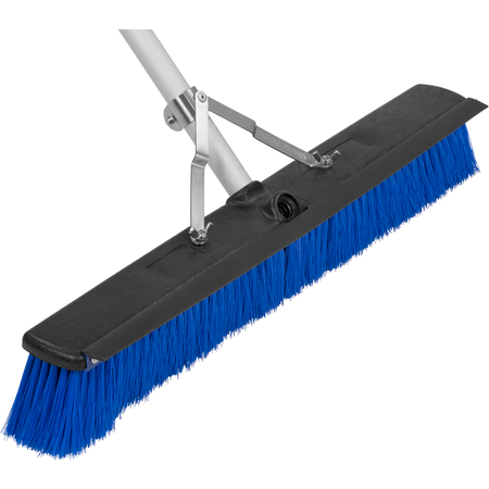 "3621962414 - Sweep Complete™ Floor Sweep with Squeegee 24"" - Blue"