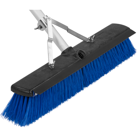 """3621961814 - Sweep Complete™ Floor Sweep with Squeegee 18"""" - Blue"""