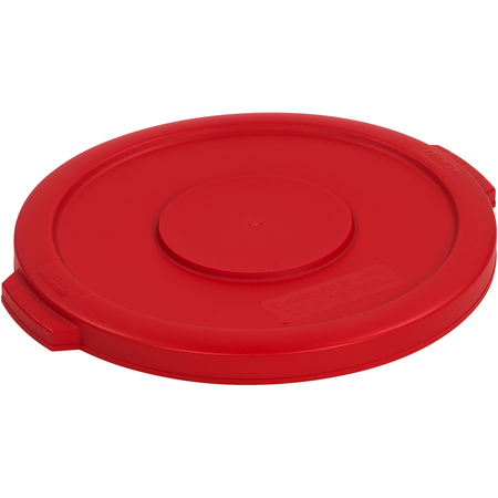 34101105 - Bronco™ Round Waste Bin Food Container Lid 10 Gallon - Red