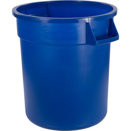 34101014 - Bronco™ Round Waste Bin Food Container 10 Gallon - Blue