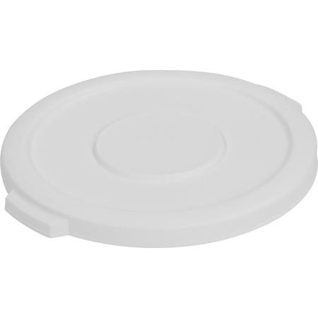 34101102 - Bronco™ Round Waste Bin Food Container Lid 10 Gallon - White