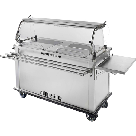 """DXPSUCR - Perfect . Serv II® Perfect•Serv® Ultra - 2 Chillotherm compartments 60.2"""" x 28.75"""" x 54.5"""" - Stainless Steel"""
