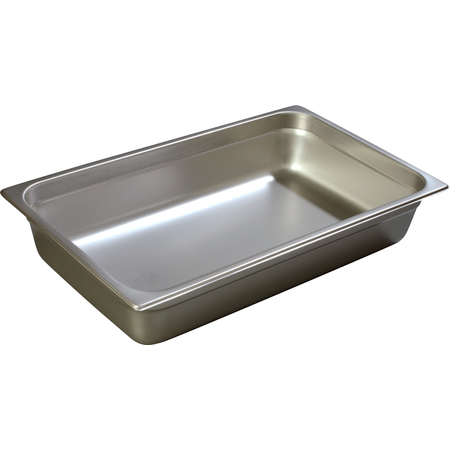 "607004 - DuraPan™ Full-Size Light Gauge Stainless Steel Steam Table Hotel Pan 4"" Deep"