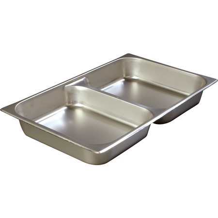 "607002D - DuraPan™ Full-Size Stainless Steel Divided Steam Table Hotel Pan 2.5"" Deep"