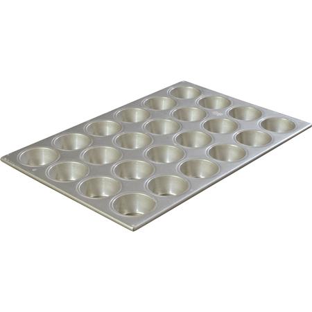 601840 - Steeluminum® 24 Cup Heavy-Duty Cupcake Pan 3.5 oz