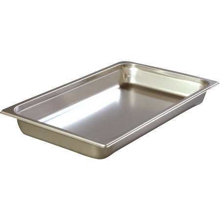 "608002 - DuraPan™ Full-Size Heavy Gauge Stainless Steel Steam Table Hotel Pan 2.5"" Deep - Stainless Steel"