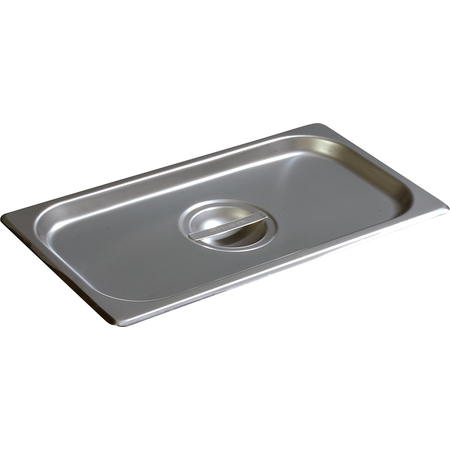 607130C - DuraPan™ Third-Size Stainless Steel Steam Table Hotel Pan Handled Cover