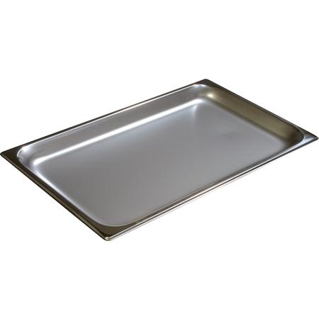 "607001 - DuraPan™ Full-Size Light Gauge Stainless Steel Steam Table Hotel Pan 1"" Deep"