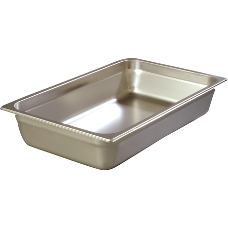 "608004 - DuraPan™ Full-Size Heavy Gauge Stainless Steel Steam Table Hotel Pan 4"" Deep - Stainless Steel"