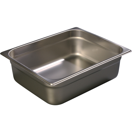 "607124 - DuraPan™ Half-Size Light Gauge Stainless Steel Steam Table Hotel Pan 4"" Deep"