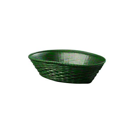 650409 - WeaveWear™ Oval Basket 1.1 qt - Green