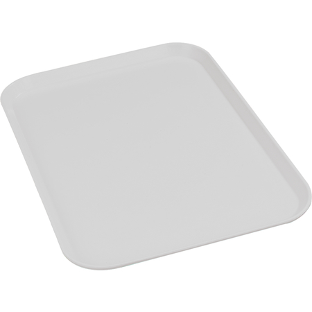 "2216FGQ002 - Glasteel™ Tray 12.1"" x 16"" - Smoke Gray"