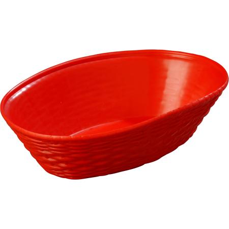650405 - WeaveWear™ Oval Basket 1.1 qt - Red
