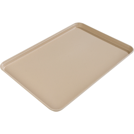 "1612FG095 - Glasteel™ Solid Rectangular Tray 16.4"" x 12"" - Almond"