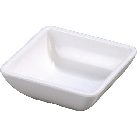 086002 - Melamine Square Ramekin 2 oz - White