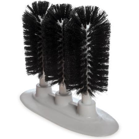 "4046103 - Sparta® Triple Glass Washer 8"" - Black"