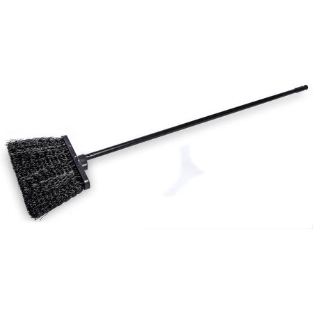 "3688403 - Duo-Sweep® 13"" Unflagged Warehouse Broom with 48"" Black Metal Handle 48"" - Black"