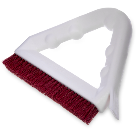 "4132305 - Spectrum® Tile & Grout Brush With Nylon Bristles 9"" - Red"