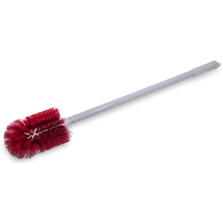 "4000305 - Sparta® Multi-Purpose Valve & Fitting Brush 30"" Long/3-1/2"" x 5"" Oval - Red"