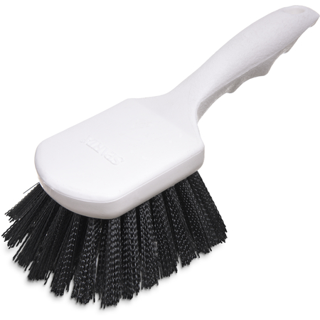 "4054103 - Sparta® Utility Scrub Brush with Polyester Bristles 8"" x 3"" - Black"