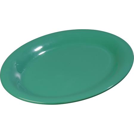 """3308209 - Sierrus™ Melamine Oval Platter Tray 12"""" x 9"""" - Meadow Green"""