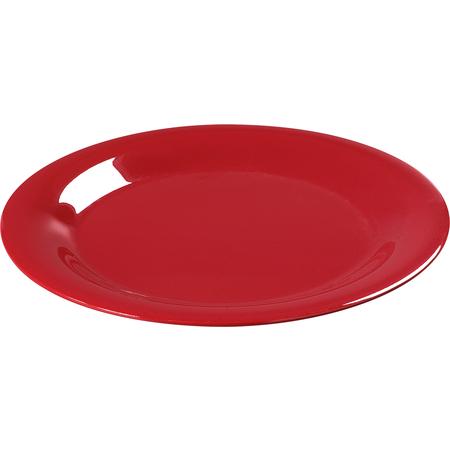 "3301605 - Sierrus™ Melamine Wide Rim Salad Plat 7.5"" - Red"