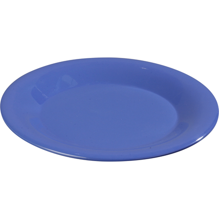 """3301614 - Sierrus™ Melamine Wide Rim Salad Plat 7.5"""" - Ocean Blue"""