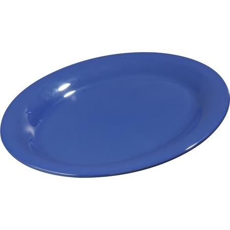 """3308214 - Sierrus™ Melamine Oval Platter Tray 12"""" x 9"""" - Ocean Blue"""