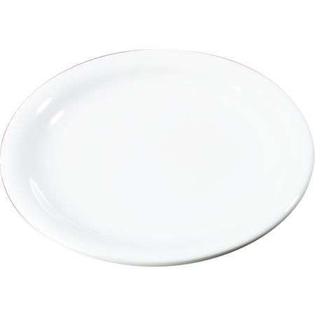 "3300602 - Sierrus™ Melamine Narrow Rim Salad Plate 7.25"" - White"