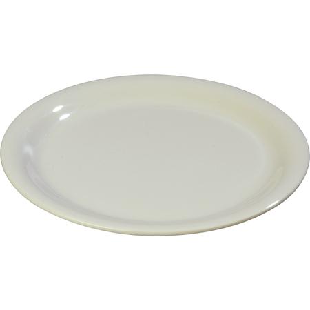 "3300642 - Sierrus™ Melamine Narrow Rim Salad Plate 7.25"" - Bone"