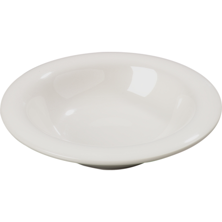 4304042 - Durus® Melamine Rimmed Bowl 8 oz - Bone