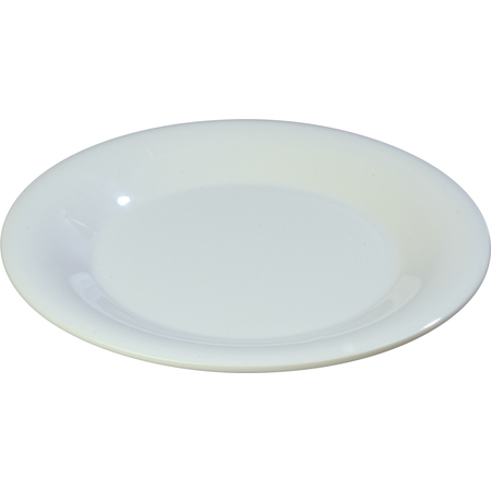 "3302002 - Sierrus™ Melamine Wide Rim Bread And Butter Plate 5.5"" - White"