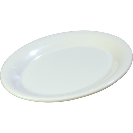 "3308602 - Sierrus™ Melamine Oval Platter Tray 9.5"" x 7.25"" - White"