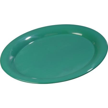 """3308009 - Sierrus™ Melamine Oval Platter Tray 13.5"""" x 10.5"""" - Meadow Green"""