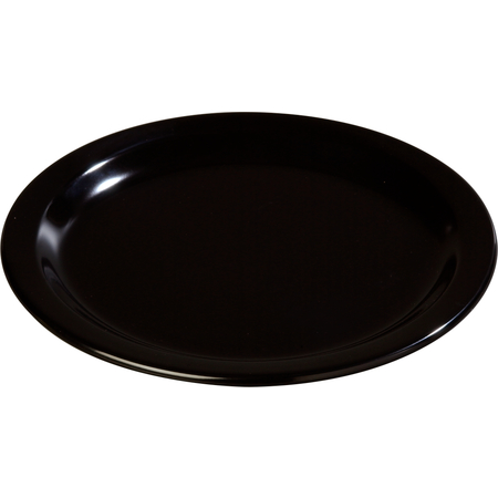 "4350103 - Dallas Ware® Melamine Dinner Plate 9"" - Black"