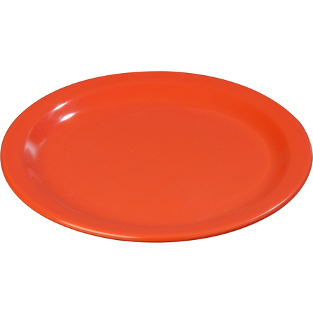 """4350152 - Dallas Ware® Melamine Dinner Plate 9"""" - Sunset Orange"""