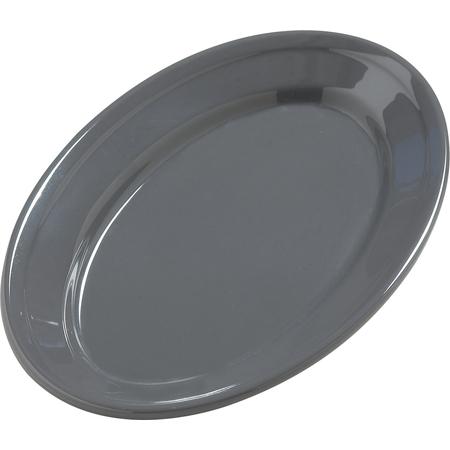 "4387240 - Dayton™ Melamine Oval Platter Tray 9.25"" x 6.25"" - Peppercorn"