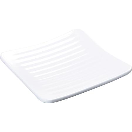 """4382202 - Epicure® Melamine Square Plate 6.25"""" - White"""