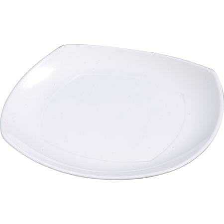 """4330402 - Melamine Upturned Corner Square Plate 11.5"""" - White"""