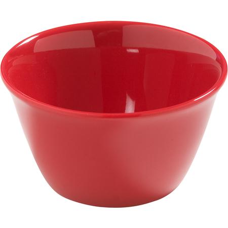 4386805 - Dayton™ Melamine Bouillon Cup Bowl 8 oz - Red