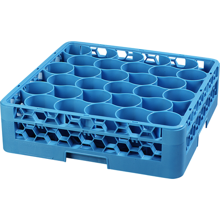 RW3014 - OptiClean™ NeWave™ Glass Rack with Integrated Extender 30 Compartment - Carlisle Blue